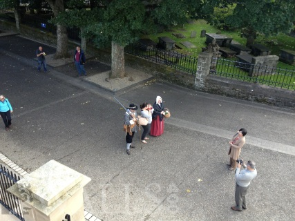 View of Master Gunner and Wife from the Plinth