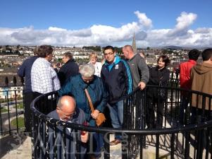 Descending the Plinth