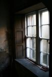 Window detail in the Deanery Basement